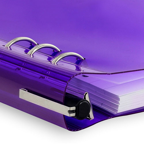 Filofax | notitieboek Filofax Clipbook A5 Gummy Purple